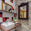 Old Stone Room private bathroom