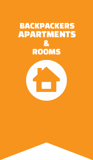 accommodation in split apartments and rooms