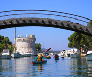 kayak in the trogir