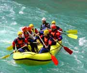 Rafting on the Cetina river